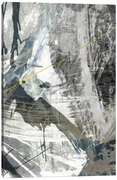 White Noise I Canvas Art Print