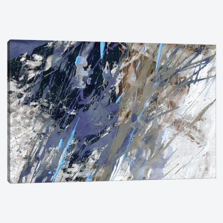 Blue Noise I Canvas Print #JBU27} by John Butler Canvas Print