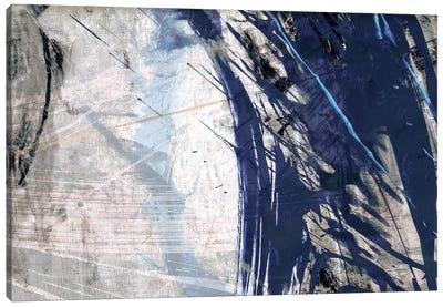 Blue Noise II Canvas Art Print