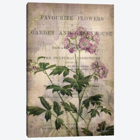 Favorite Flowers IV Canvas Print #JBU2} by John Butler Art Print