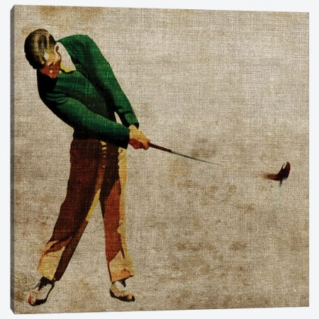 Vintage Sports II Canvas Print #JBU3} by John Butler Art Print