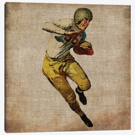 Vintage Sports III Canvas Print #JBU4} by John Butler Canvas Wall Art
