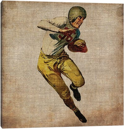 Vintage Sports III Canvas Art Print