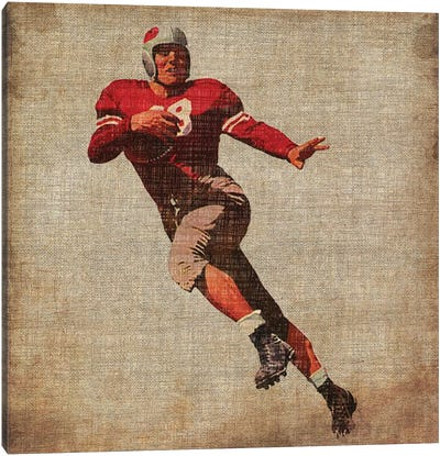 Vintage Sports IV Canvas Art Print