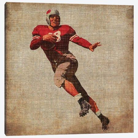 Vintage Sports IV Canvas Print #JBU5} by John Butler Canvas Wall Art