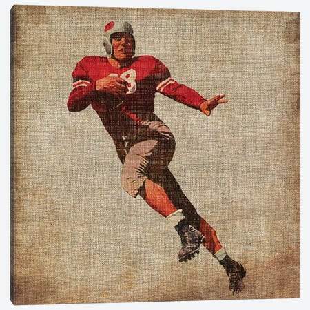 Vintage Sports IV Canvas Print #JBU5} by John Butler Canvas Wall Art