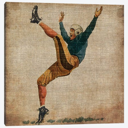 Vintage Sports V Canvas Print #JBU6} by John Butler Canvas Wall Art