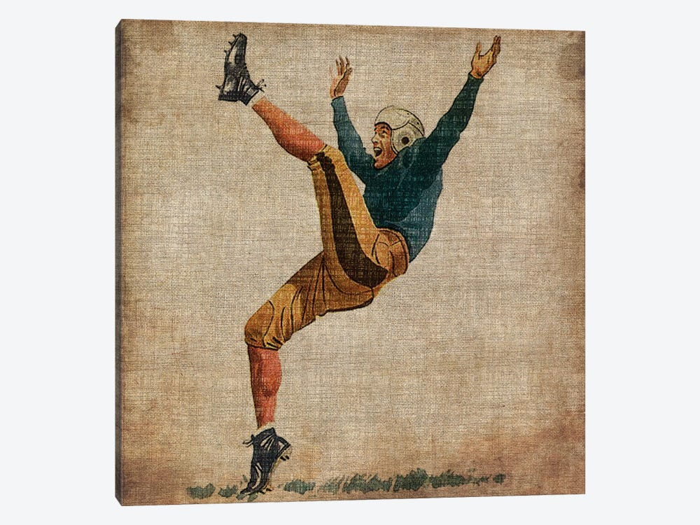 Vintage Sports V by John Butler 1-piece Canvas Wall Art