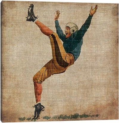 Vintage Sports V Canvas Art Print