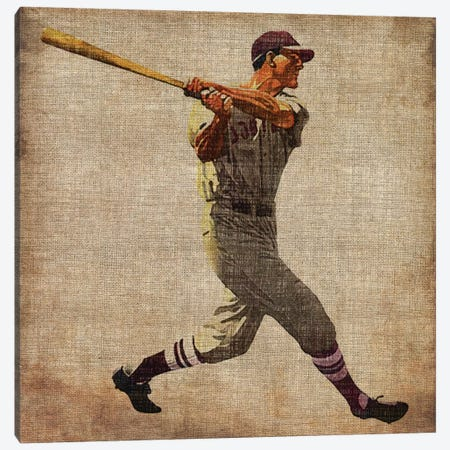 Vintage Sports VI Canvas Print #JBU7} by John Butler Canvas Wall Art