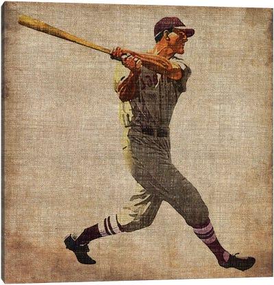 Vintage Sports VI Canvas Art Print