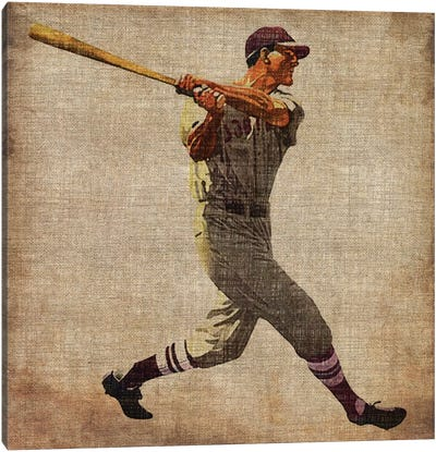Vintage Sports VI Canvas Art Print