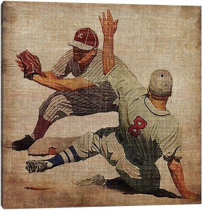 Vintage Sports VII Canvas Art Print