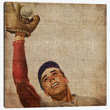 Vintage Sports VIII Canvas Print #JBU9} by John Butler Canvas Print