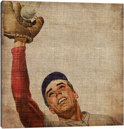 Vintage Sports VIII Canvas Art Print