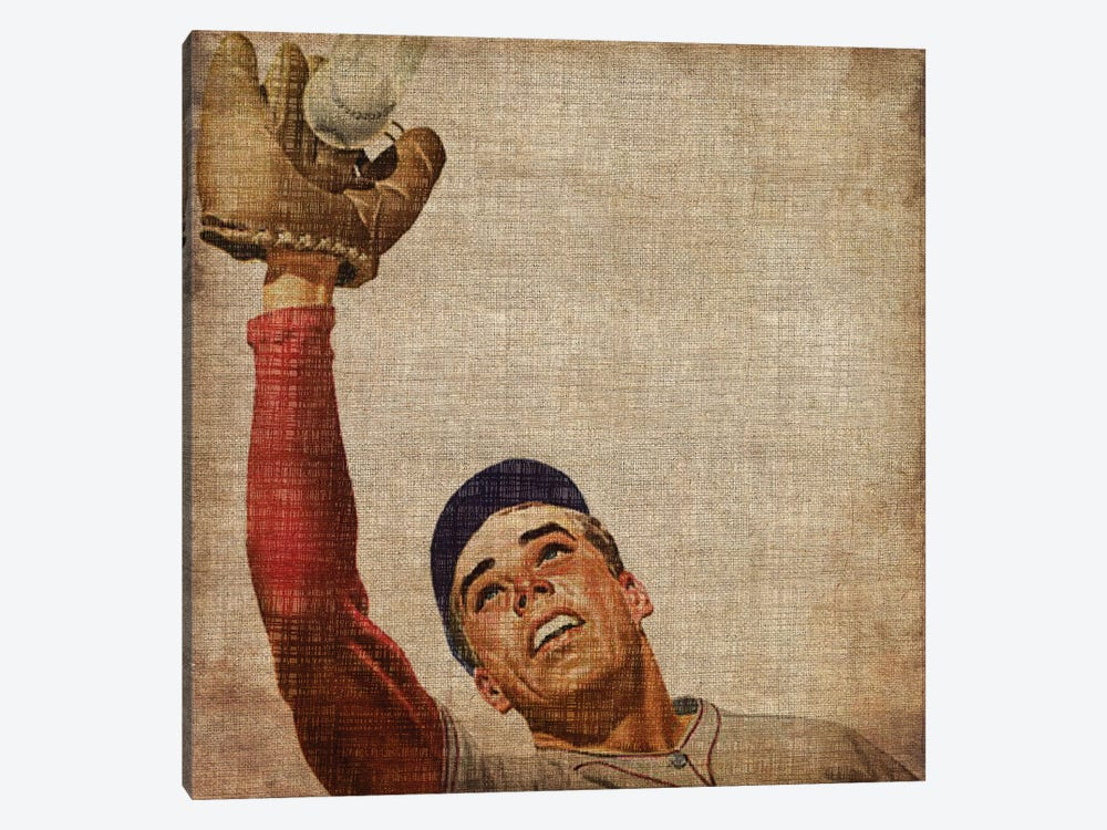 Vintage Sports VIII by John Butler 1-piece Art Print