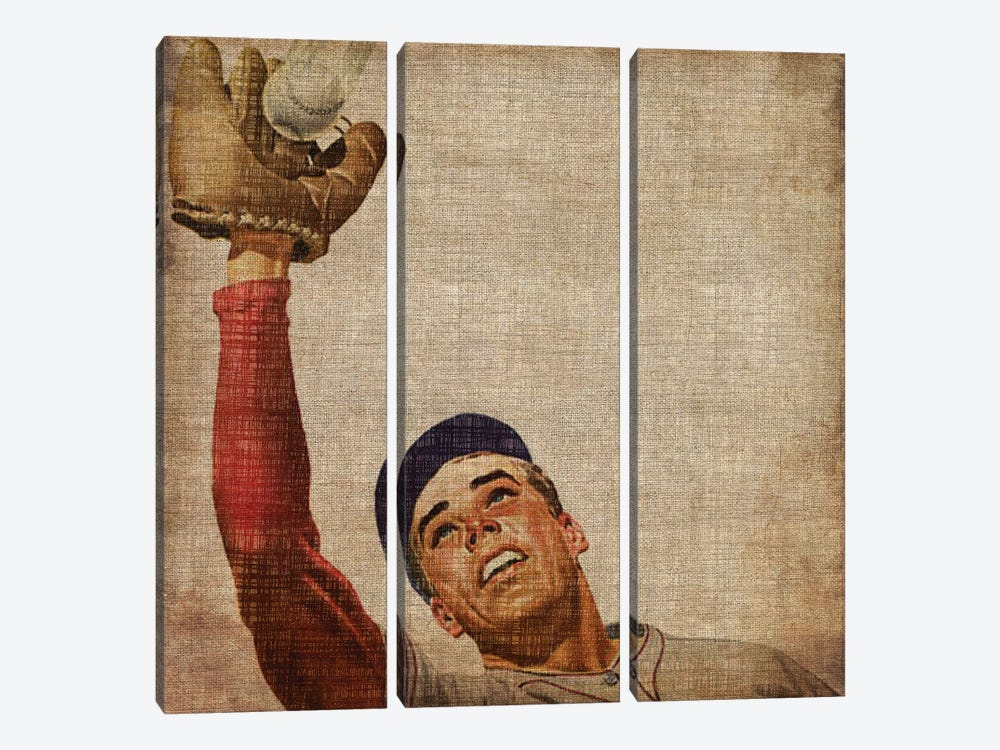 Vintage Sports VIII by John Butler 3-piece Art Print