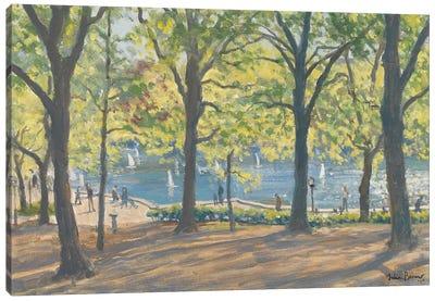 Central Park, New York, 2010 Canvas Art Print
