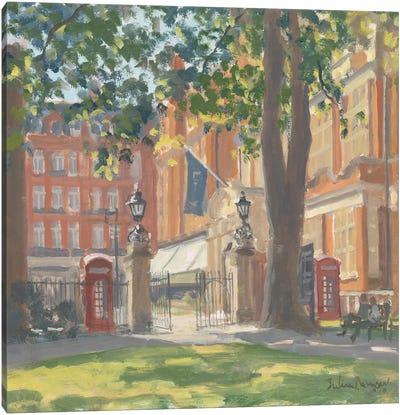 Mount Street Gardens, London, 2010 Canvas Art Print