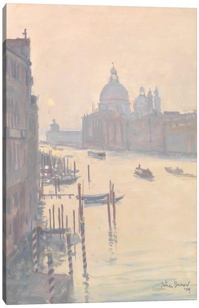 Sunrise From Accademia Bridge, 2009 Canvas Art Print