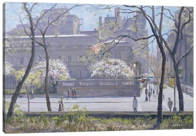 The Frick Gallery, 1997 Canvas Art Print