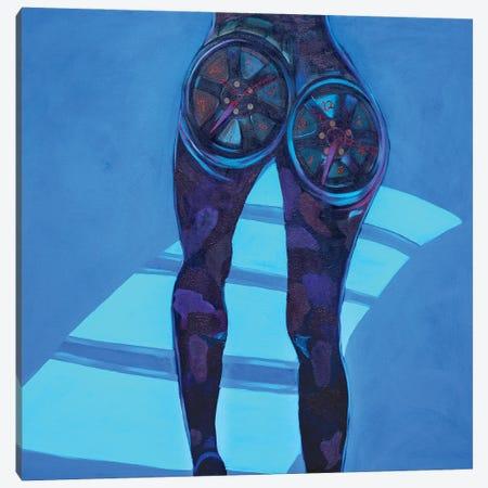 Time Is Going Canvas Print #JBY12} by Janet Adebayo Adenike Art Print