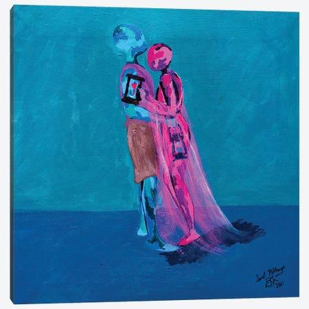Enjoy Friendship - See You Again Canvas Print #JBY15} by Janet Adebayo Adenike Canvas Art
