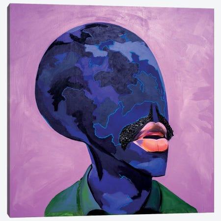 Happy Man'S Day Canvas Print #JBY18} by Janet Adebayo Adenike Art Print