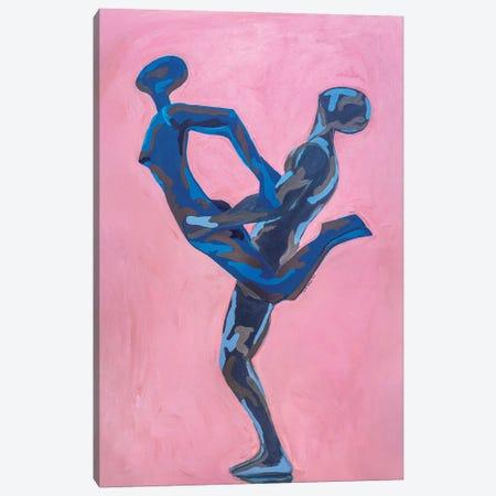 Intimacy Dance Canvas Print #JBY1} by Janet Adebayo Adenike Canvas Print