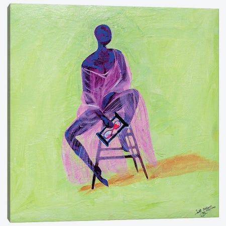 Enjoy Friendship Canvas Print #JBY4} by Janet Adebayo Adenike Canvas Artwork