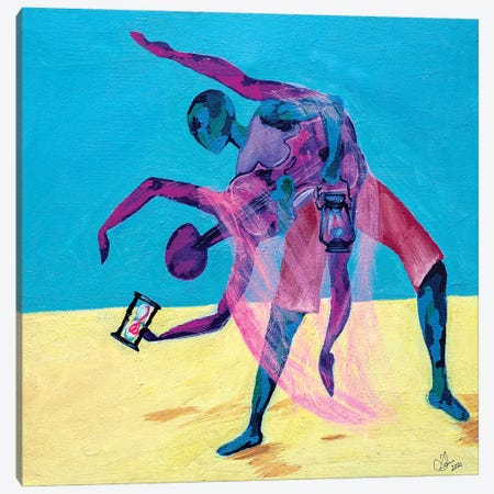 Enjoy Friendship - The Dance Canvas Print #JBY5} by Janet Adebayo Adenike Canvas Wall Art