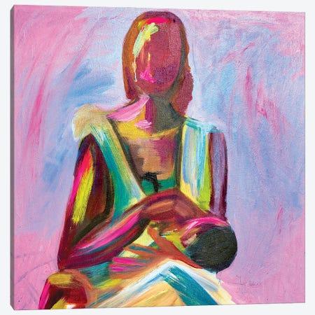 Mother's Sacrifice Canvas Print #JBY9} by Janet Adebayo Adenike Canvas Art Print