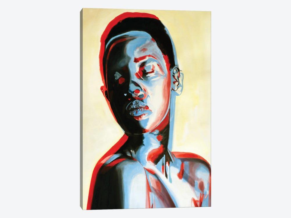 3 Dimensional Woman by JAC Bezer 1-piece Canvas Artwork