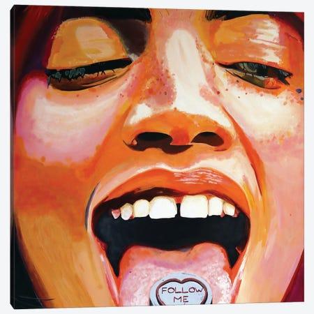 Follow Me Canvas Print #JBZ17} by JAC Bezer Art Print