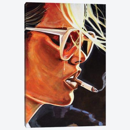 Smoke Break Canvas Print #JBZ18} by JAC Bezer Canvas Wall Art