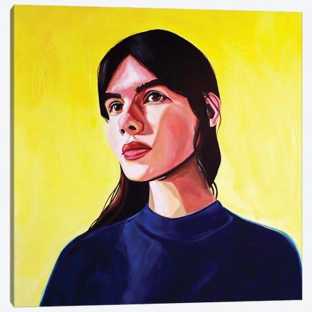 Yellow III Canvas Print #JBZ22} by JAC Bezer Canvas Print