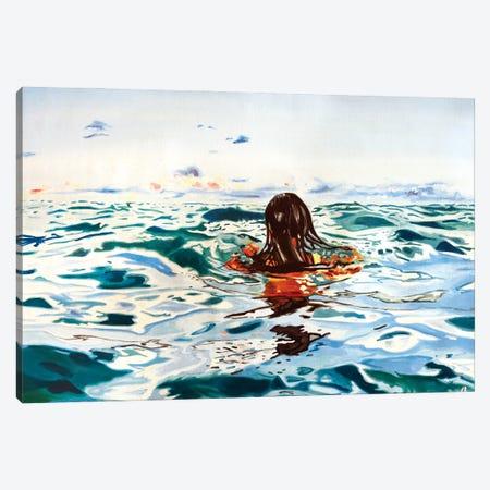 Forward Looking Canvas Print #JBZ6} by JAC Bezer Canvas Art Print