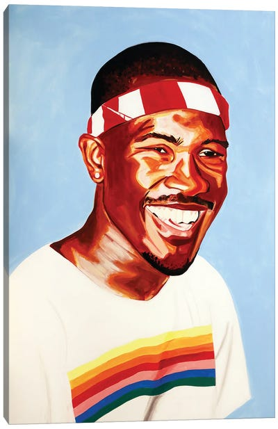 Frank Canvas Art Print