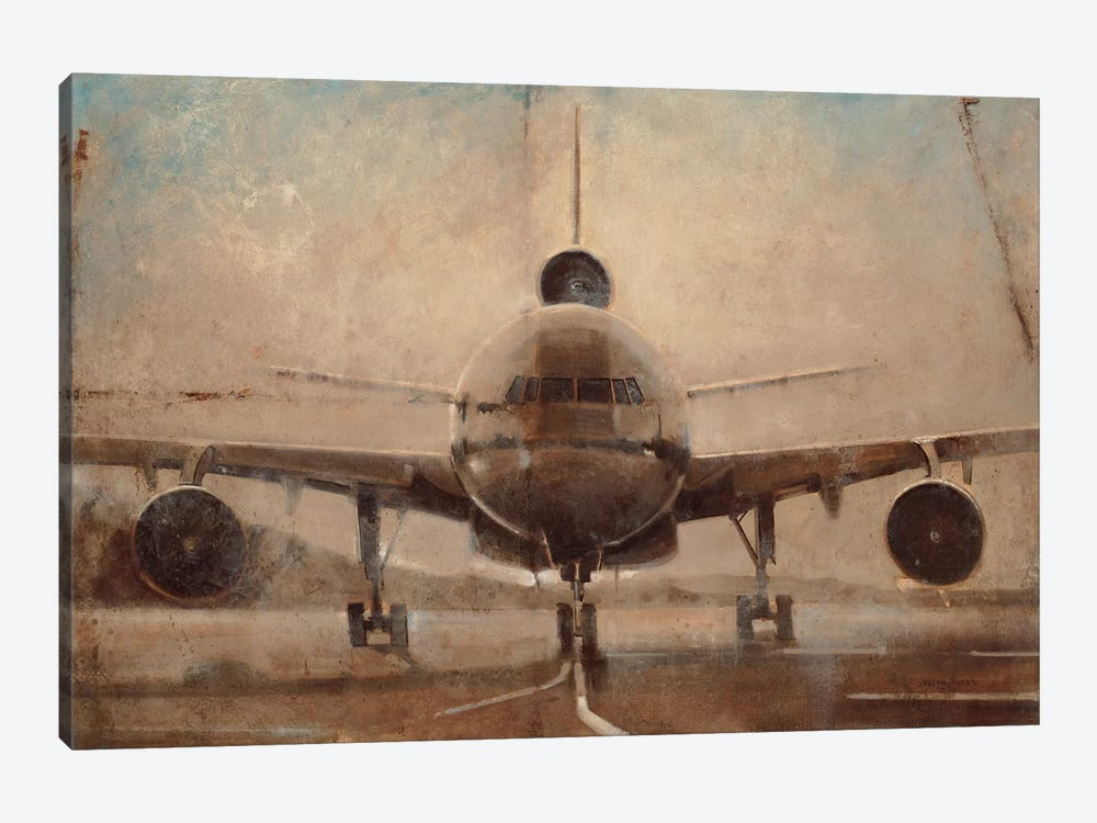 Tonal Plane by Joseph Cates 1-piece Canvas Art Print