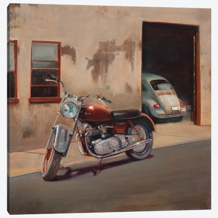 Hidden Garage 3-Piece Canvas #JCA12} by Joseph Cates Canvas Artwork