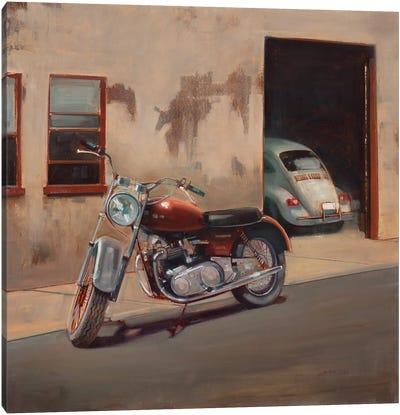 Hidden Garage Canvas Art Print