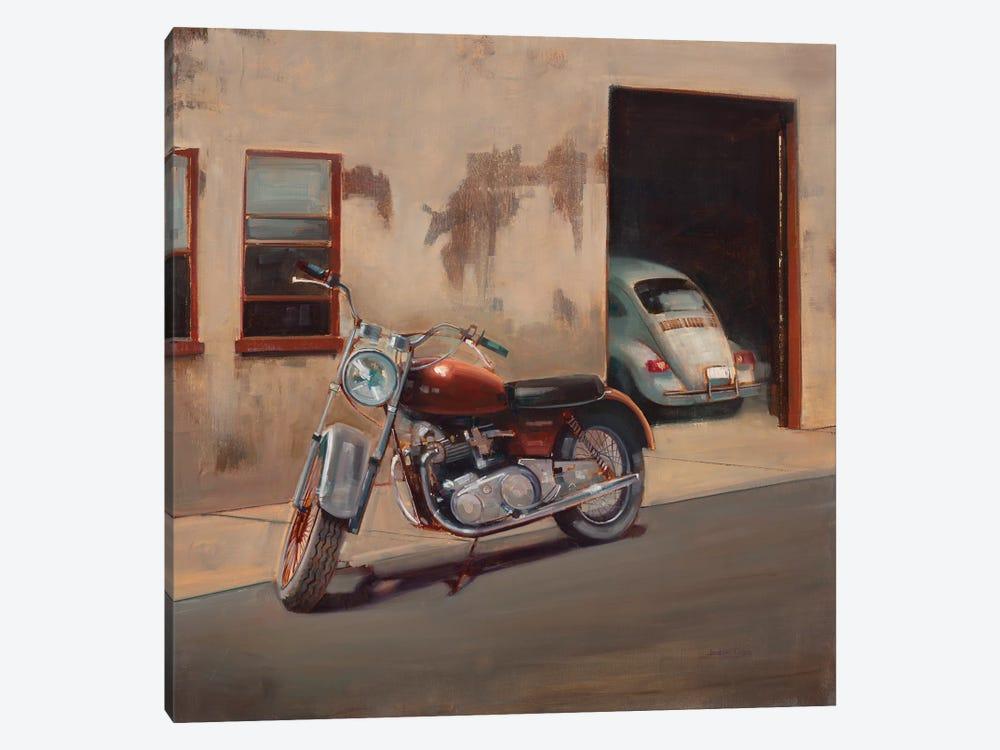 Hidden Garage by Joseph Cates 1-piece Art Print