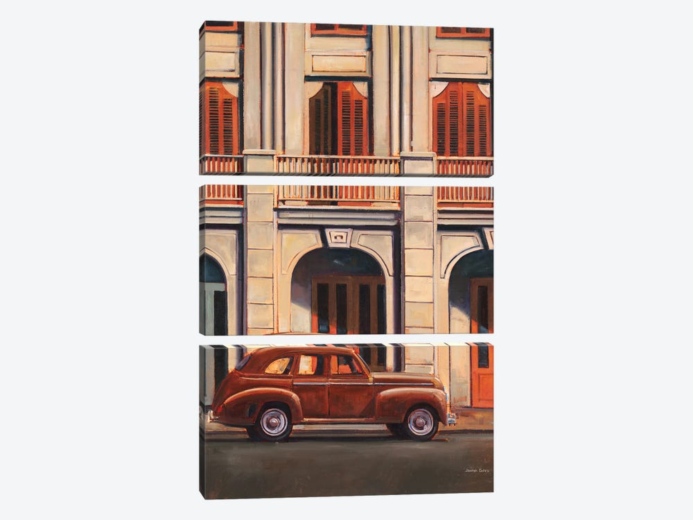 Last Stop I by Joseph Cates 3-piece Canvas Art