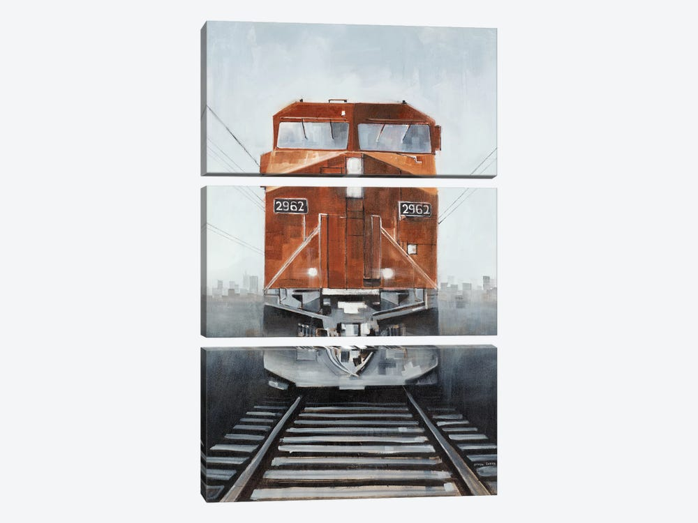 Last Stop II by Joseph Cates 3-piece Canvas Art Print