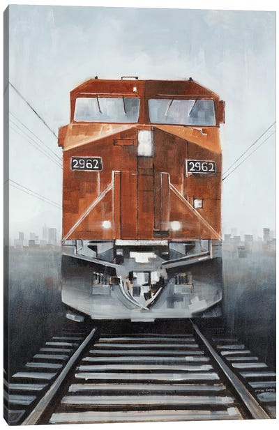 Last Stop II Canvas Art Print