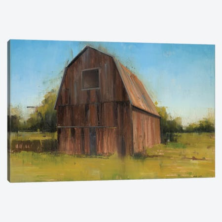 Barn Canvas Print #JCA16} by Joseph Cates Canvas Art Print