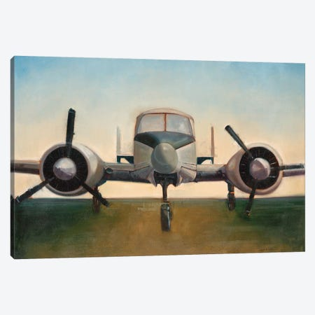 Airplane Canvas Print #JCA1} by Joseph Cates Art Print