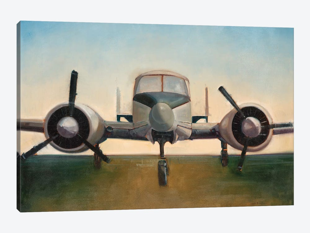 Airplane by Joseph Cates 1-piece Canvas Artwork