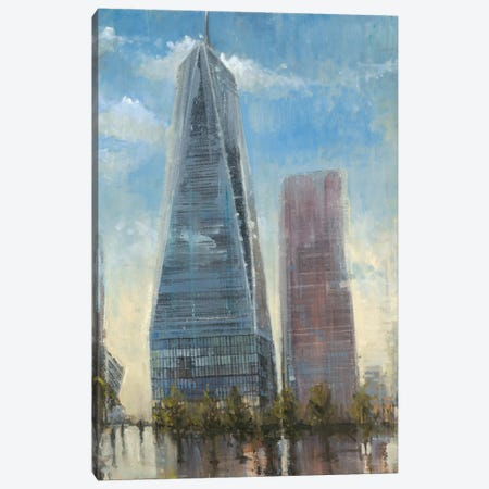 Freedom Tower 3-Piece Canvas #JCA21} by Joseph Cates Art Print
