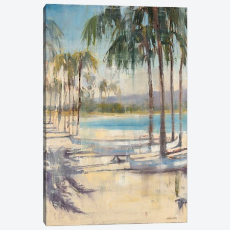 Ocean Palms I Canvas Print #JCA22} by Joseph Cates Canvas Art Print